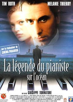 La Légende du pianiste sur l'océan affiche